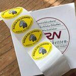 Étiquette de la viande d'agneau et mouton